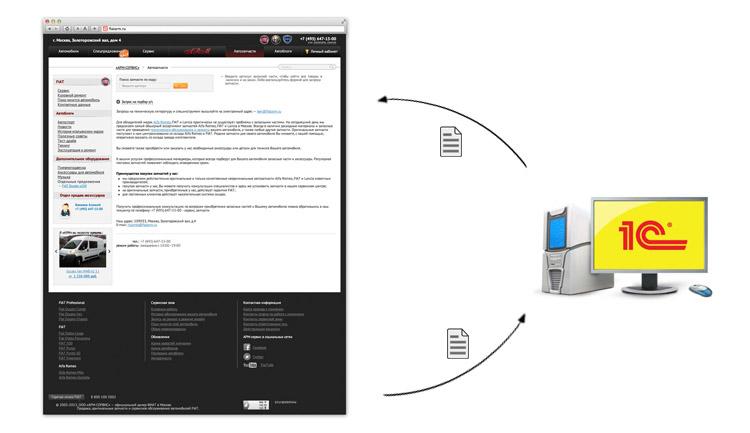 Сайт для ООО «АРМ-Сервис» - изображение 5