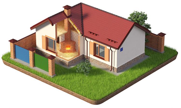 Иллюстрация дома - изображение 1