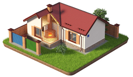Иллюстрация дома